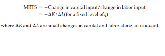"""Production with Two Variable Inputs 3"""" = C"""