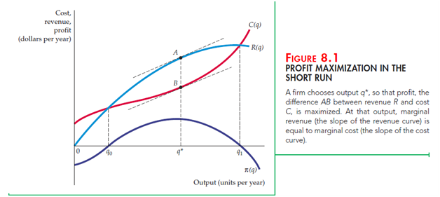 """Profit Maximization and Competitive Supply 1"""" = C"""