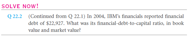 Capital Structure Patterns in the United States 9