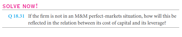 The Effect of Leverage on Costs of capital and Quoted Bond Yields 27