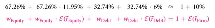 The Weighted Average Cost of Capital (WACC) 22