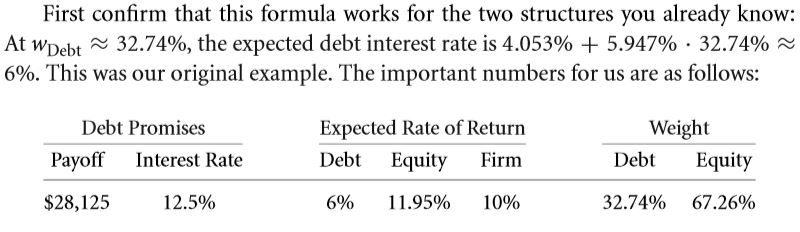 The Weighted Average Cost of Capital (WACC) 25