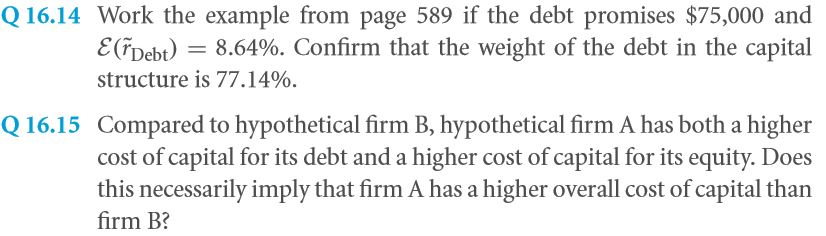 The Weighted Average Cost of Capital (WACC) 37