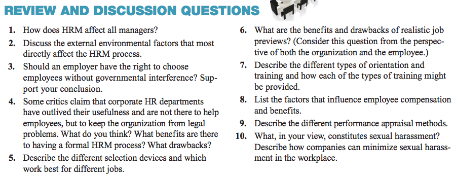 Chapter Twelve Summary by Learning Outcomes 15