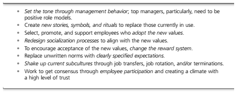 Issues in Managing Changes 8