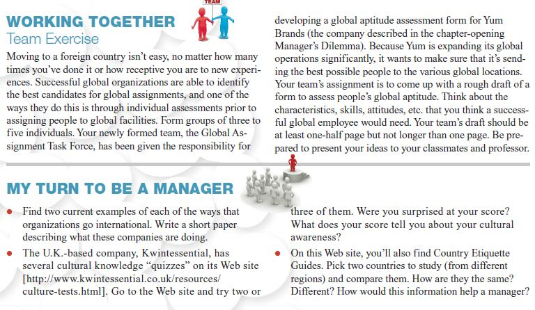 Managing in a Global Environment 17
