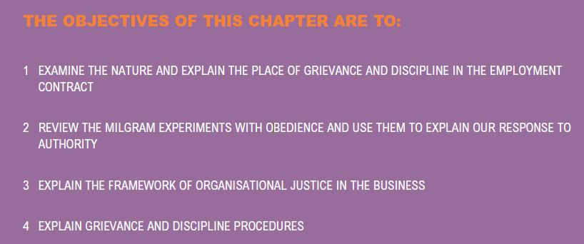Grievance and Discipline 1